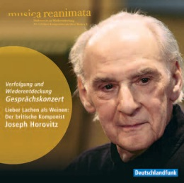 CD Cover mit Joseph Horovitz